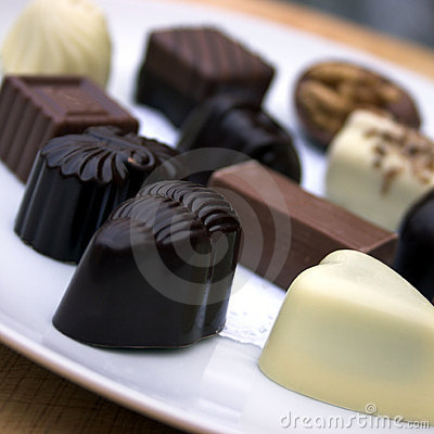 Free Chocolate!!! Royalty Free Stock Photography - 417387