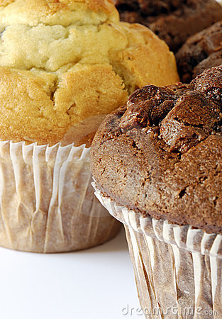 Free Chocolate And Blueberry Muffin Royalty Free Stock Photo - 3184595