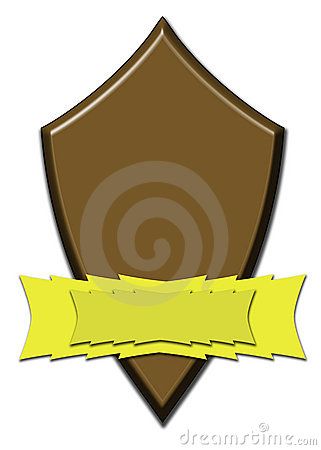 Chocolate award shield