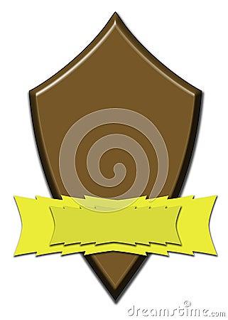 Chocolate award shield