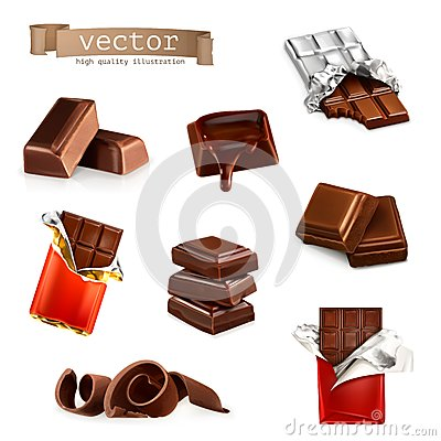 Free Chocolate Bars And Pieces Royalty Free Stock Images - 57245609
