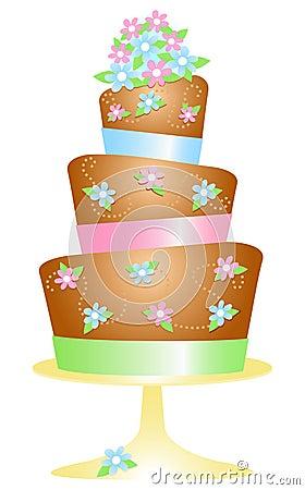 Chocolate Birthday Cake/eps