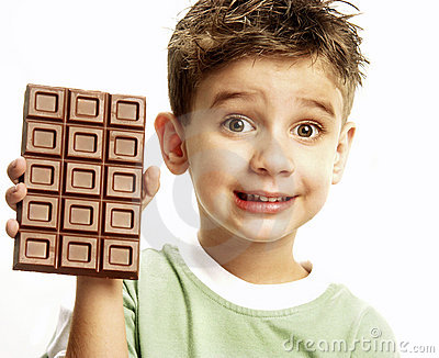 Chocolate boy.