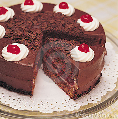 Chocolate Cake Royalty Free Stock Photos - Image: 1684878