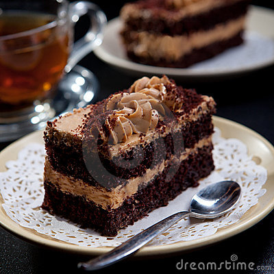 Free Chocolate Cake Royalty Free Stock Photography - 19318897