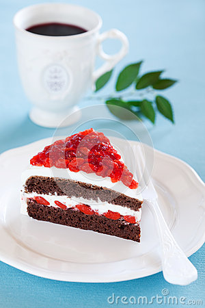 Free Chocolate Cake Royalty Free Stock Photos - 27177808