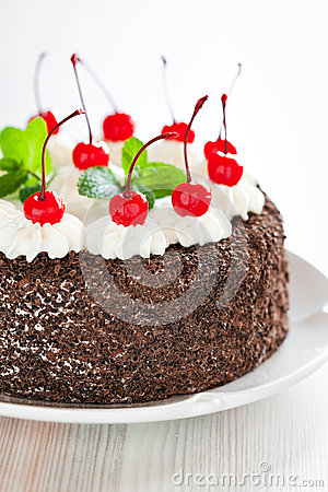Free Chocolate Cake Royalty Free Stock Images - 28116779