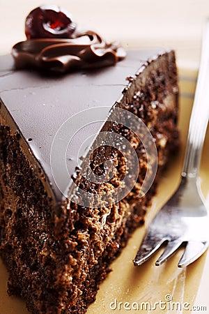 Free Chocolate Cake Slice Stock Photos - 4392603