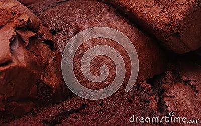 Chocolate cake texture