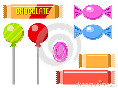Chocolate and candies 1