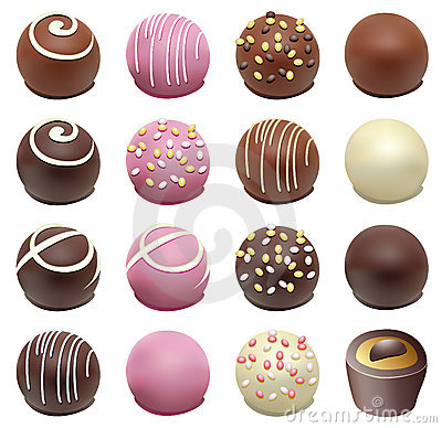 Free Chocolate Candies Royalty Free Stock Photography - 14914537