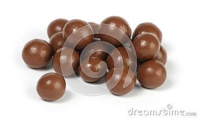 Chocolate candy balls