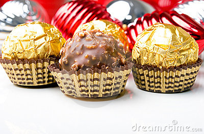 Chocolate candy treats Christmas New Year holiday