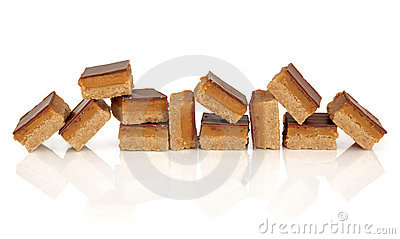 Chocolate And Caramel Candy Stock Photos - Image: 21658413