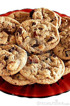 Free Chocolate Chip Cookies Royalty Free Stock Image - 565026