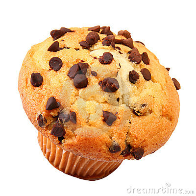 Free Chocolate Chip Muffin Stock Image - 5475911