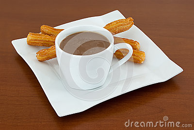 Chocolate with Churros