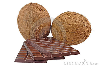 Chocolate with coconut