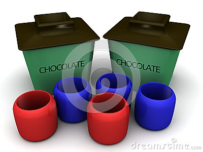 Chocolate container