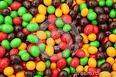 Chocolate covered balls