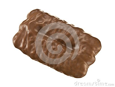 Chocolate covered biscuit