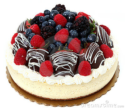 Chocolate Covered Strawberry and Fruit Cheesecake
