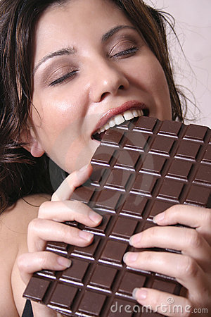 Free Chocolate Craving Royalty Free Stock Photography - 34257