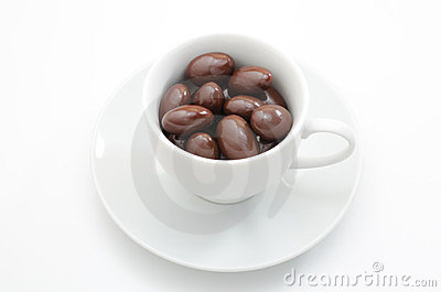 Chocolate in the cup