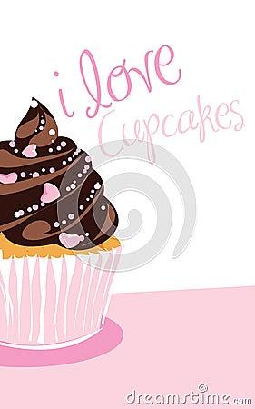 Free Chocolate Cupcake Royalty Free Stock Image - 12759646