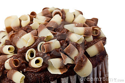 Chocolate Cupcake Stock Images - Image: 23734224