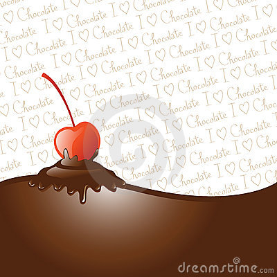 Free Chocolate Dipped Cherry Royalty Free Stock Image - 9744836