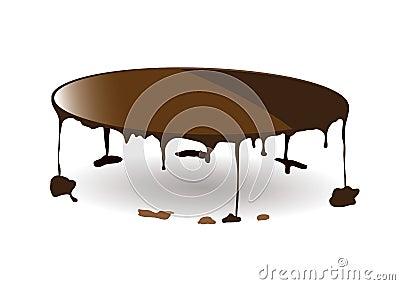 Chocolate dribble