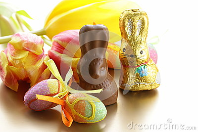 Chocolate Easter bunny (sweets)