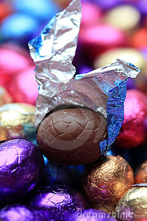 Free Chocolate Easter Egg Stock Images - 13011714