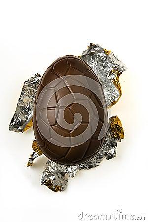 Free Chocolate Easter Egg Stock Image - 14296021