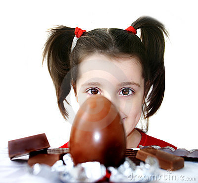 Free Chocolate Egg Stock Photography - 80252
