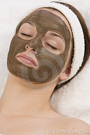 Free Chocolate Face Mask Stock Image - 6314561