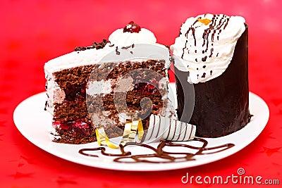 Chocolate fancy cake