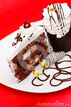 Chocolate fancy cake