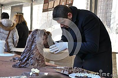 Chocolate Festival Editorial Stock Photo