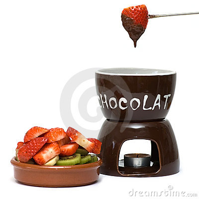 Free Chocolate Fondue Royalty Free Stock Photo - 8589045