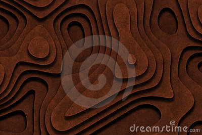 Chocolate Frosted Cake Abstract Background
