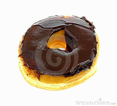 Chocolate Frosted Raised Donut