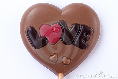 Chocolate heart