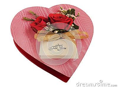 Chocolate Heart Box.