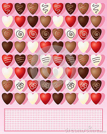 Free Chocolate Hearts Royalty Free Stock Photography - 27236207