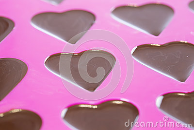 Chocolate in Hearts