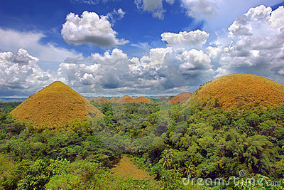 Chocolate Hills natural landmark