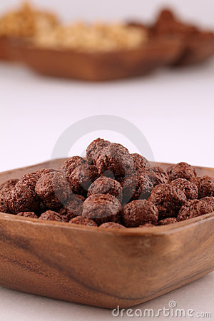 Chocolate and honey cereals