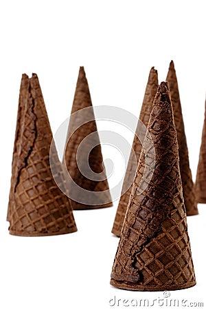 More similar stock images of ` Chocolate ice cream cones `